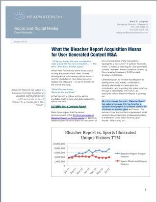 UGC_Bleacher FIrst Page